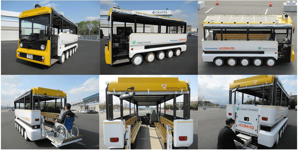 低速循環自動運転バス